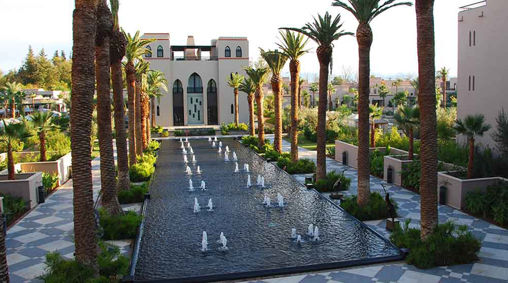 Bassin fontaines Hôtel Four Seasons Marrakech